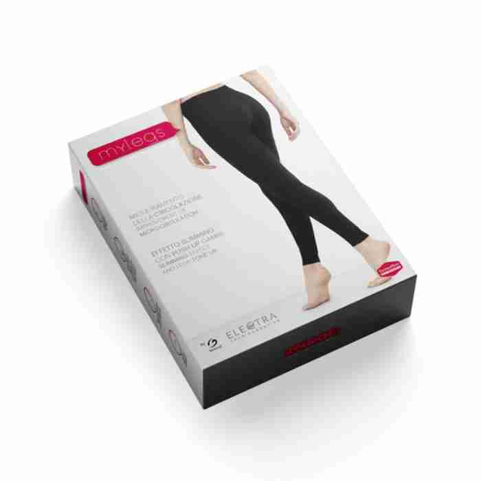 Mylegs– Leggings effetto drenante push-up