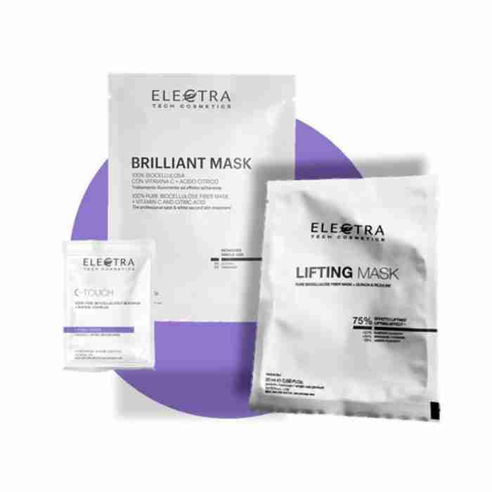 Kit maschere in Biocellulosa